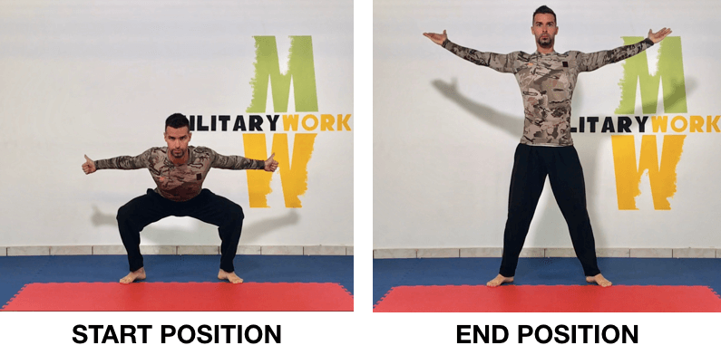 MW Butterfly Squat
