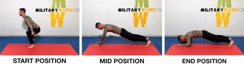 MW Butterfly Squat to Plank