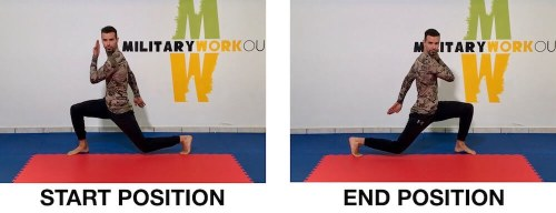 MW Power Twist Lunges