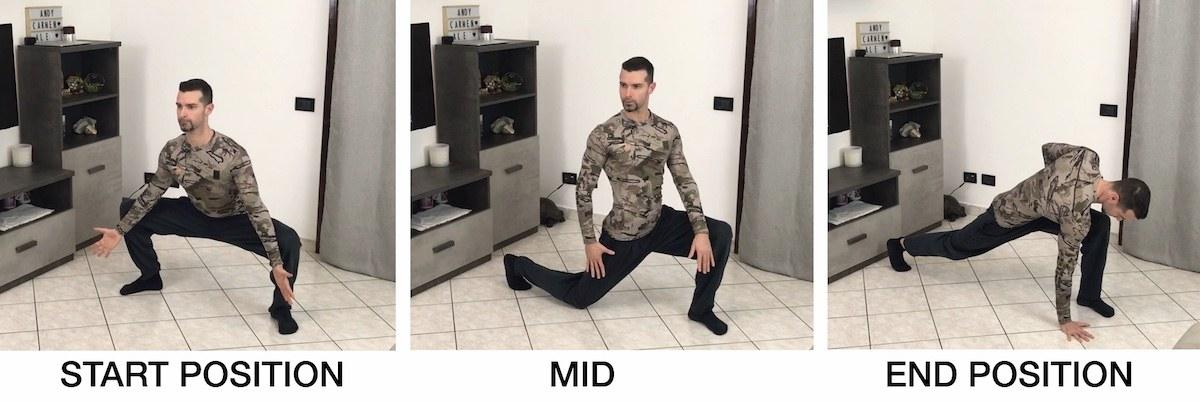 HFB Squat Mobility + Half Kneeling + Sprinter Stretch