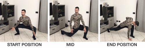 HFB Squat Mobility + Half Kneeling + Sprinter Stretch