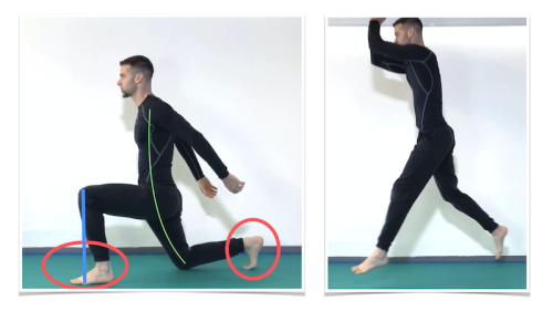 Alternated Jumping Lunges