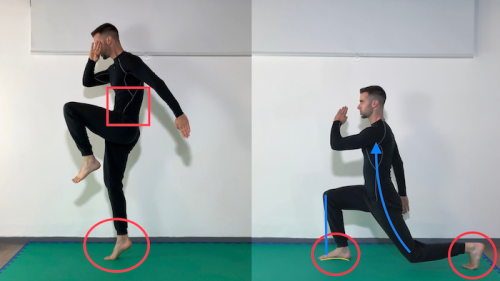 Single leg Power Prep L2